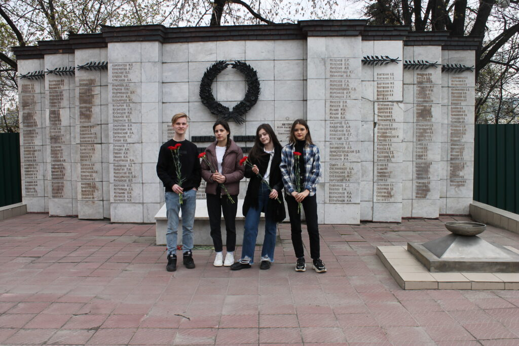 Почтение памяти воинов Великой отечественной войны